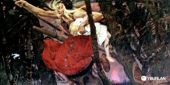 Образ Бабы-Яги в сказках - популярный персонаж