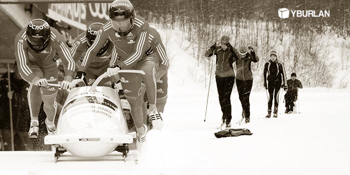 Олимпиада 2014. Слаженность - залог успеха наших спортсменов