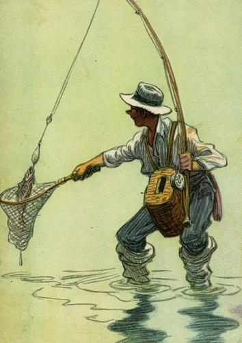 что такое рыбалка? рыбак кожный