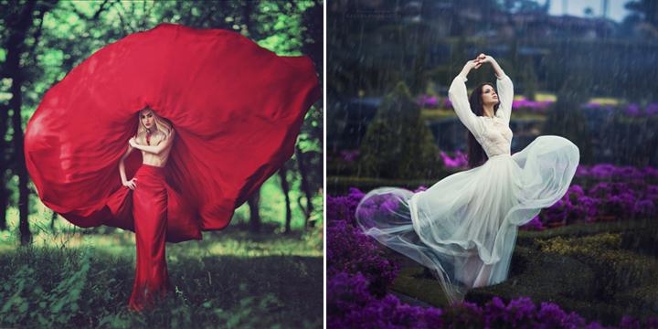 Танец и песня - видовая роль кожно-зрительной женщины